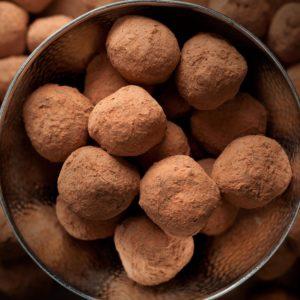 Chocolate Dipped Magic Truffles